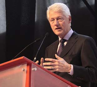 Clinton in Honduras