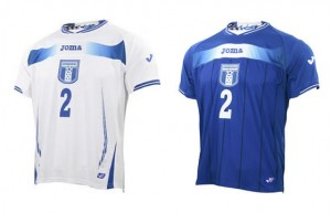 Honduras Seleccion New shirts for 2012