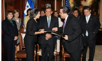 Honduras Signs Security Memorandum of Understanding