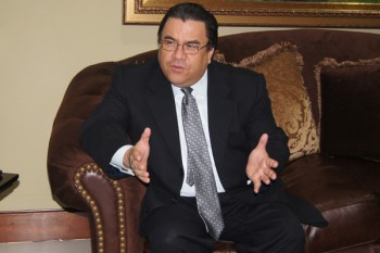 Honduran Foreign Affairs Secretary Arturo Corrales Álvarez