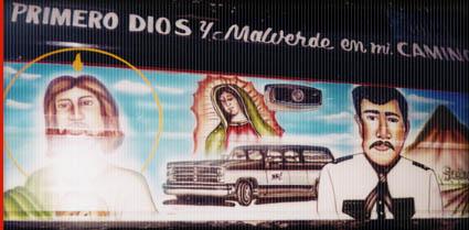 Malverde Mural