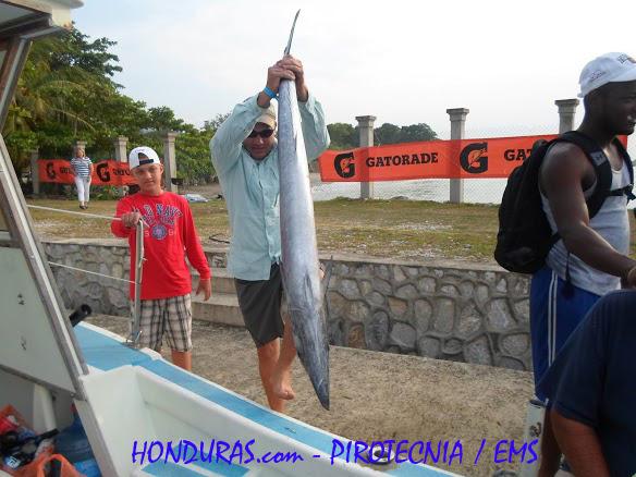 Club de Pesca Honduras - Honduras Fishing club Omoa Honduras 2013