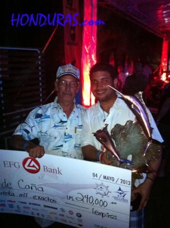 Club de Pesca winners in Honduras - Utila Bay Island