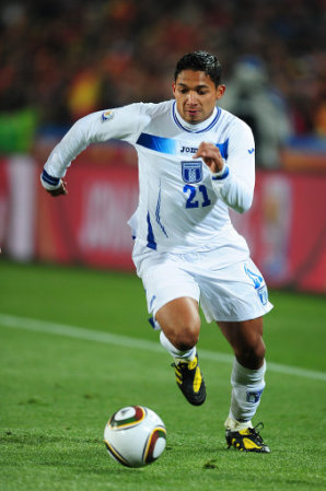 Emilio Izaguirre Honduras Soccer Player