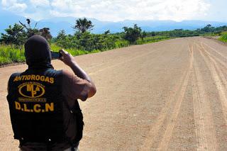 Honduras Clandestine Landing Strips Destroyed