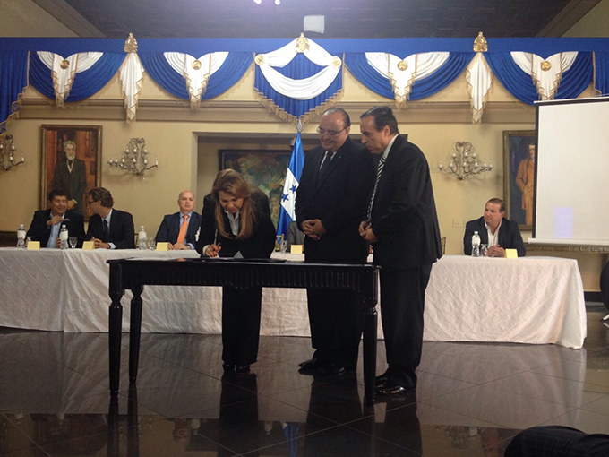 ADASA-Honduras-sign-northern-corridor-infrastructure-project-agreement