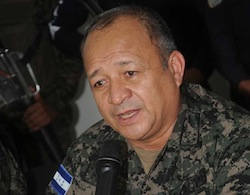 Retired Honduras General Julian Pacheco