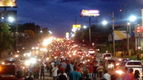 Protest in Honduras Intensify Calling for President Juan Orlando Hernandez Resignation