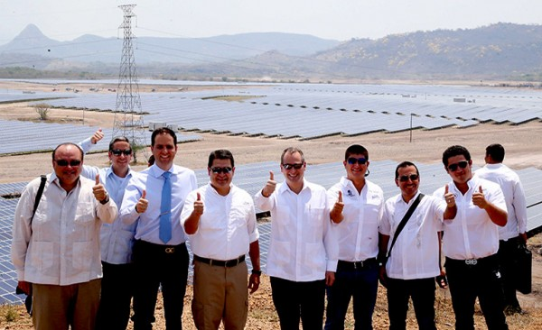 Solar Power SA (Soposa) and Compania Hondurena de Energia Solar SA (Cohessa) developed a 50MW Solar Power Plant in Nacaome, Honduras