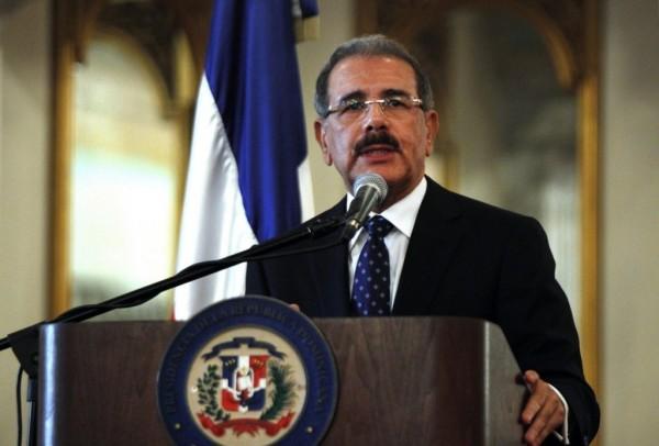 DANILO MEDINA PRESIDENT DOMINICAN  REPUBLIC