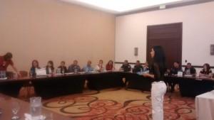 Violence Against Women Workshop in San Pedro Sula