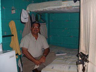 Romero in Cell in Honduras