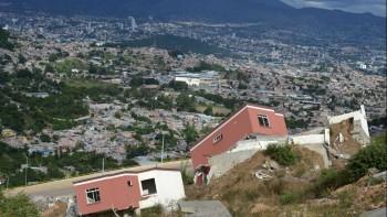 Landslide in Honduras