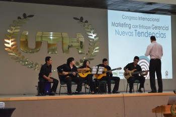"Photo from UTH's Marketing Congress, focused on ""New Tendencies"""