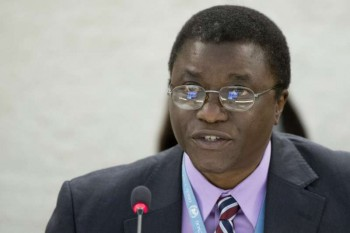Beyani Chaloka, the Special Rapporteur