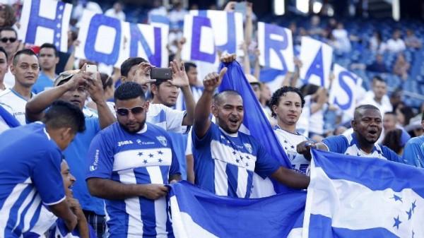 Honduras Soccer fans cheer their National Team