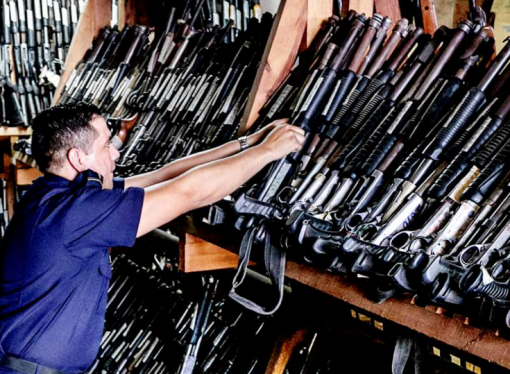 Great Over 700 Guns Including AK 47u0027s Stolen From Honduras Police Storage Unit In  Tegucigalpa