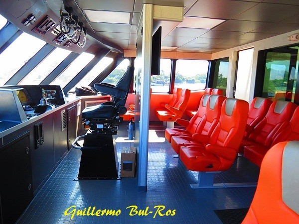 Utila Dream Ferry First Class Section Upper Deck