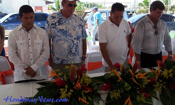 Utila Dream Ferry Inaugural Blessing