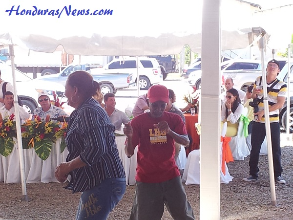 Utila Dream Ferry Inaugural Celebration in La Ceiba Honduras More Dancing