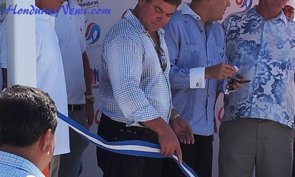 Utila Dream Ferry Inaugural Ribbon Cutting Utila Mayor Troy Bodden