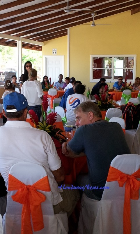 Utila Dream Ferry Inauguration Celebration in La Ceiba Honduras Drew a Crowd