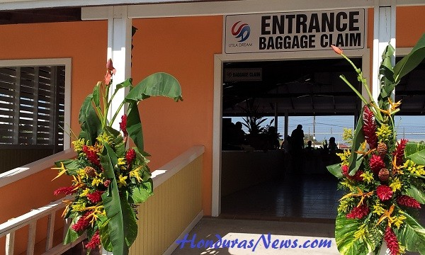 Utila Dream Ferry La-Ceiba Terminal Baggage Claim