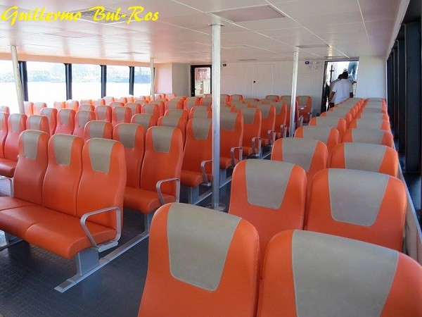 Utila Dream Ferry Lower Deck Air Conditioned
