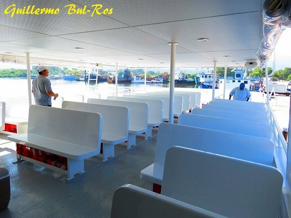 Utila Dream Ferry Upper Deck