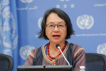 The United Nations Special Rapporteur on the rights of indigenous peoples, Victoria Tauli-Corpuz