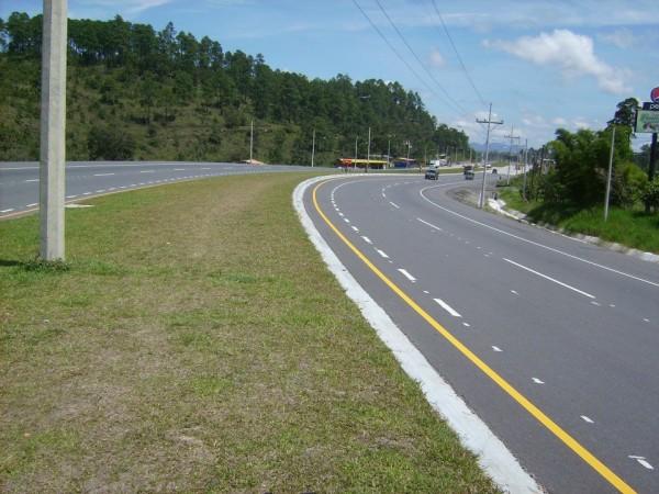Honduras Carretera del Sur