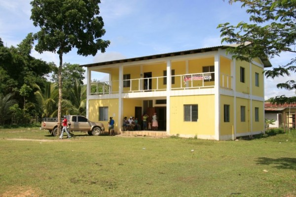 Honduras First Garifuna Hospital located in Ciriboya Honduras