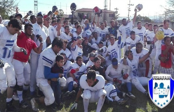 Honduras National American Football Team 2015