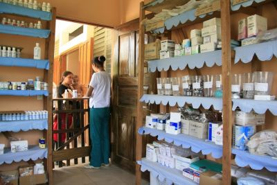 Pharmacy-at-Garifuna-Hospital-in-Ciriboya-Honduras