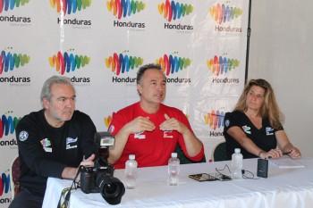 Press Conference for La Ciudad Blanca Honduras