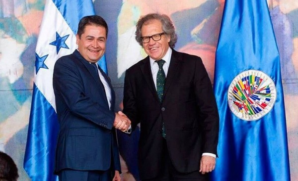 Honduras and OAS Agree to install MACCIH to address Corruption and Impunity issues affecting Honduras
