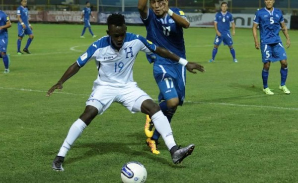 Honduras vs El Salvador 2016 National Team