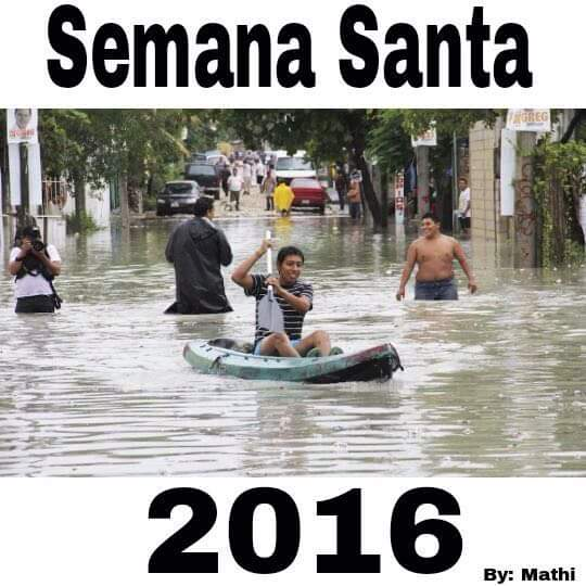 La Ceiba Honduras Cold Front - Easter 2016 Frente Frio Semana Santa 2016