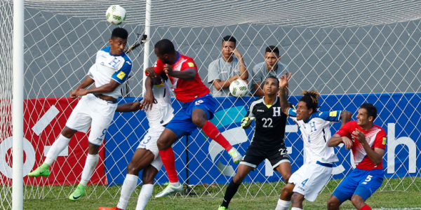 Honduras vs Costa Rica 2017