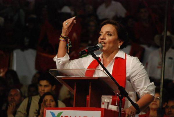 Xiomara Castro de Zelaya Honduras Presidential Candidate 2017 Libre Party